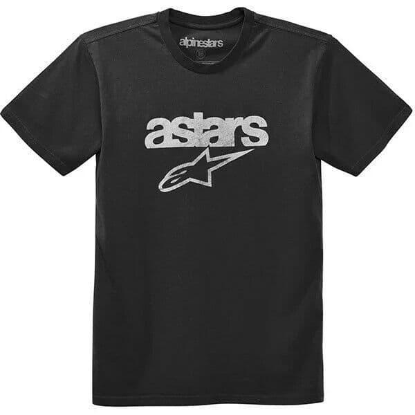 Alpinestars Casual Heritage Blaze Premium Tee T-Shirt - Faded Black